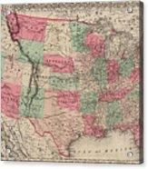 United States Of America Acrylic Print