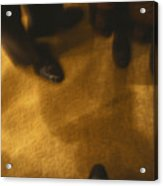 United States People Feet At A Party Acrylic Print