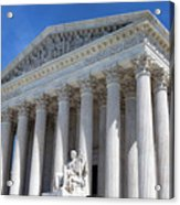 United States Supreme Court Building Acrylic Print