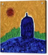 Unititled. Stupa Acrylic Print