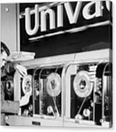 Univac Was The First Computer Designed Acrylic Print