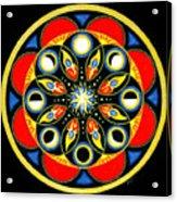 Universal Light  Mandala Acrylic Print