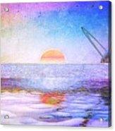 Universal Sunset Acrylic Print