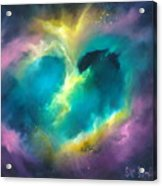 Universe Of The Heart Acrylic Print
