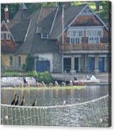 University Barge Club - Philadelphia  Acrylic Print