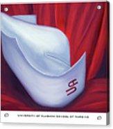 University Of Alabama School Of Nursing Acrylic Print by Marlyn Boyd