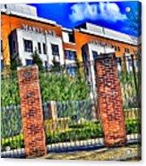 University Of Maryland - Byrd Stadium Acrylic Print