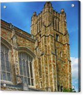 University Of Michigan Ann Arbor Acrylic Print