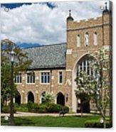 University Of Notre Dame Law School Acrylic Print