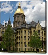 University Of Notre Dame Main Building 1879 Acrylic Print