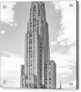 University Of Pittsburgh Cathedral Of Learning Acrylic Print