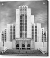 University Of Southern California University Hospital Acrylic Print