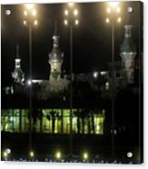 University Of Tampa Lights Acrylic Print