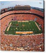 University Of Tennessee Neyland Stadium Acrylic Print by University of Tennessee Athletics