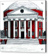 University Of Virginia Acrylic Print