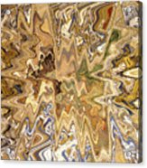 Unknown Paths Abstract Art Acrylic Print