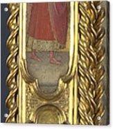 Unknown Saint Saint Cosmas And Saint Francis Acrylic Print