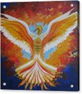 Unleashing The Holy Spirit Acrylic Print