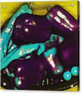 Unnatural Pepper Varieties Acrylic Print