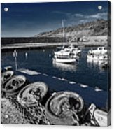 Unplugged At The Harbour - Toned Acrylic Print