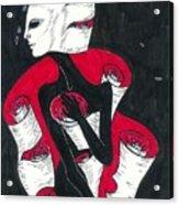 Unraveling Acrylic Print