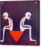 Until Death Do Us Part Acrylic Print