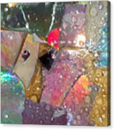 Untitled Abstract Prism Plates II Acrylic Print