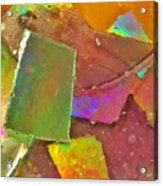 Untitled Abstract Prism Plates IIi Acrylic Print