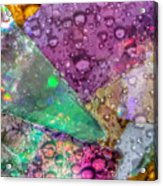 Untitled Abstract Prism Plates V Acrylic Print