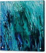 Untitled Blue Acrylic Print