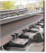 Unused Rail Acrylic Print
