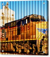 Up 5915 At Track Speed Acrylic Print