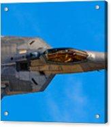 Up Close F-22 Raptor Acrylic Print