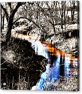 Up On Cripple Creek Acrylic Print