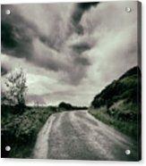 Up That Hill - Dark Acrylic Print