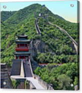 Up The Great Wall Acrylic Print