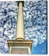 Up The Lovejoy Monument  Acrylic Print