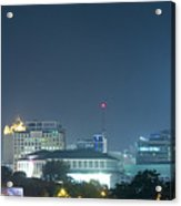 Up Town Cebu City Lights Acrylic Print