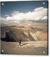 Uphill Battle Acrylic Print