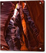 Upper Antelope Canyon, Arizona Acrylic Print