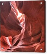 Upper Antelope Lights Acrylic Print