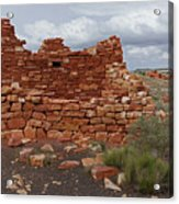 Upper Box Canyon Ruin Acrylic Print