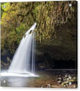 Upper Butte Creek Falls Closeup Acrylic Print