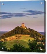 Upper Church With Two Towers In Banska Stiavnica, Slovakia Acrylic Print