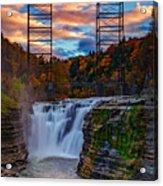 Upper Falls Letchworth State Park Acrylic Print