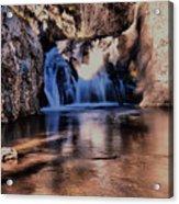 Upper Jemez Falls New Mexico Acrylic Print