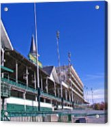 Upper Level Viewing Stands At Churchill Downs Acrylic Print