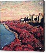Upper Manhattan Along The Hudson River Acrylic Print