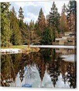 Upper Pond Reflections Acrylic Print