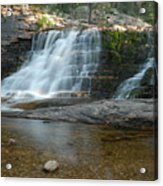 Upper Provo River Falls Acrylic Print